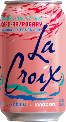 Natural LaCroix Cran-raspberry Sparkling Water