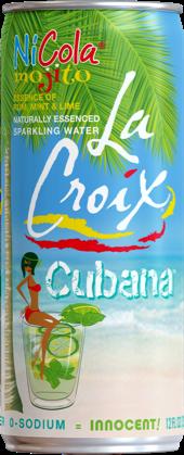 Natural LaCroix Cubana Sparkling Water