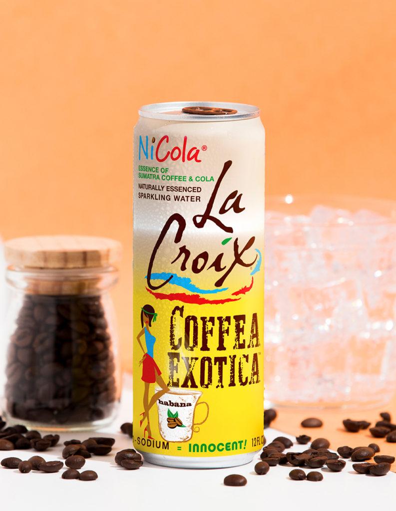 Natural LaCroix Coffea Exotica Sparkling Water