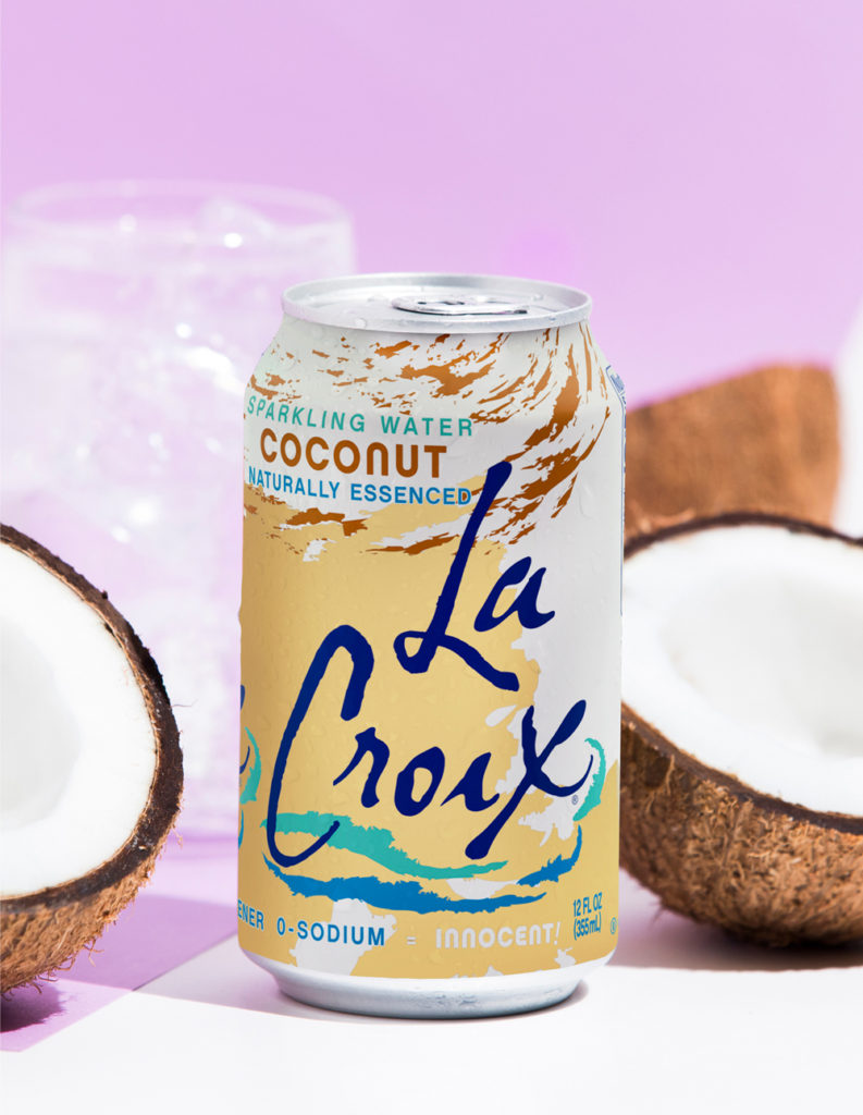 Natural LaCroix Coconut Sparkling Water