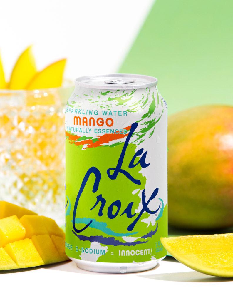 Natural LaCroix Mango Sparkling Water