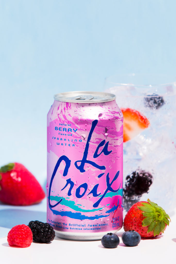 Natural LaCroix Berry Sparkling Water