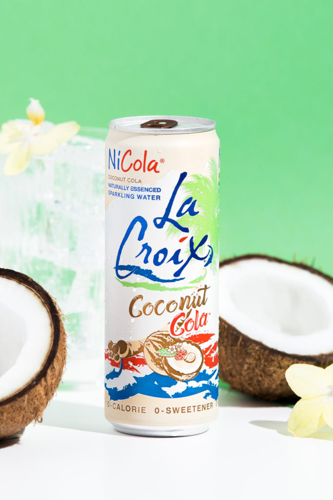 Natural LaCroix Coconut Cola Sparkling Water