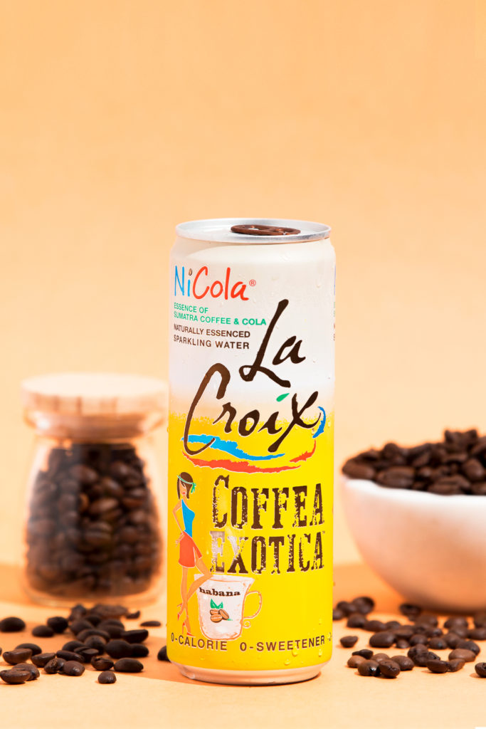 Natural LaCroix Coffea Exotica Sparkling Water