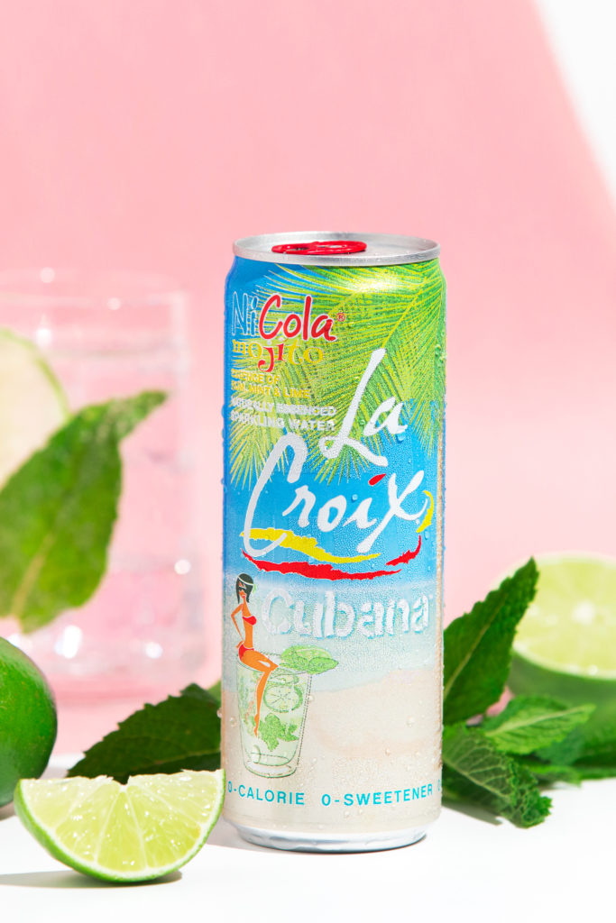 Natural LaCroix Cubana Sparkling Water