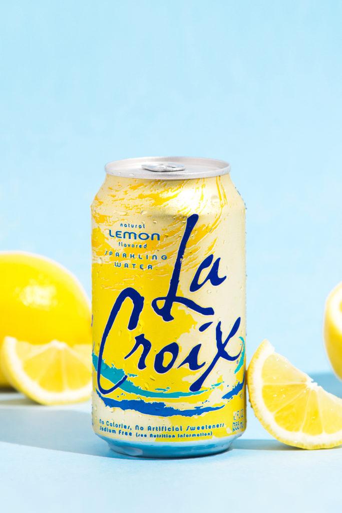 Natural LaCroix Lemon Sparkling Water