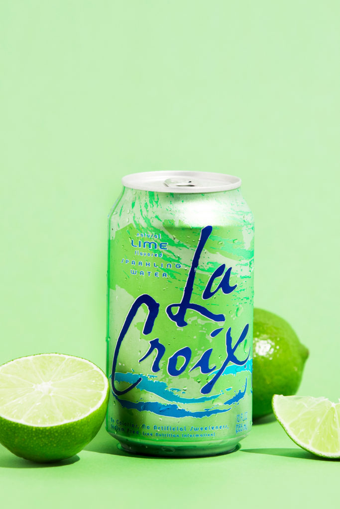Natural LaCroix Lime Sparkling Water