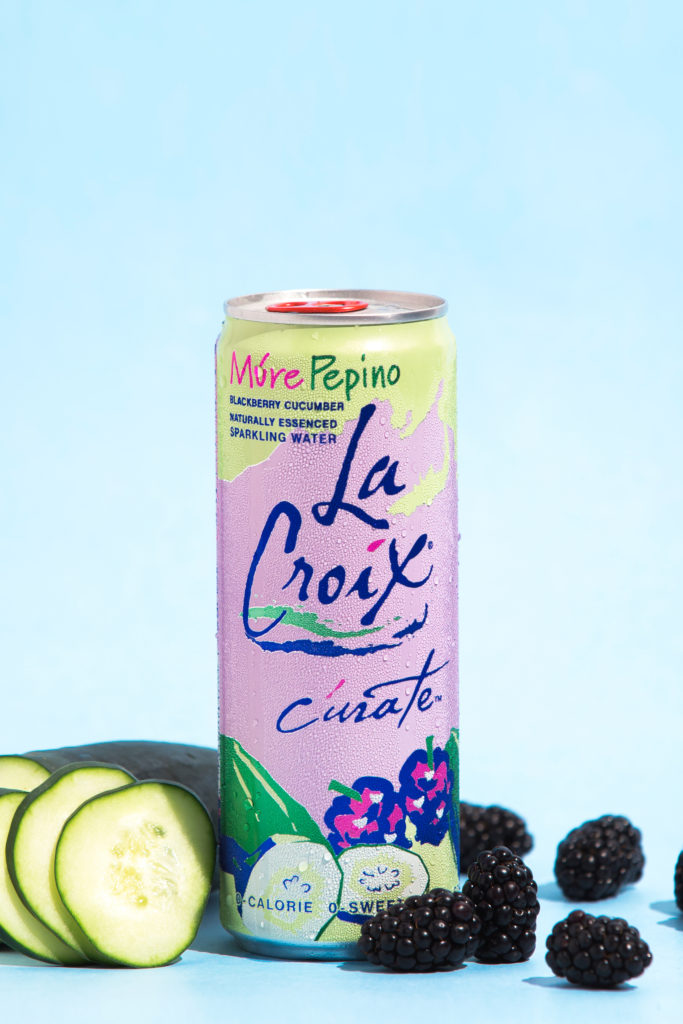 Natural LaCroix Múre Pepino Sparkling Water