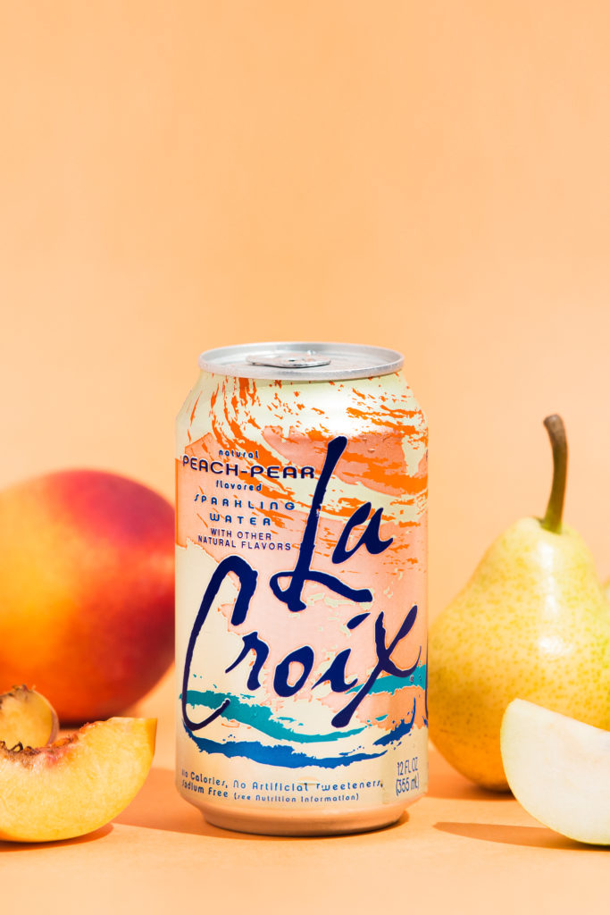 Natural LaCroix Peach-Pear Sparkling Water