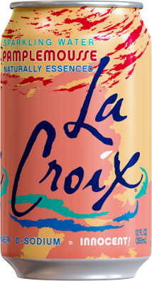 Natural LaCroix Pamplemousse Sparkling Waterflavor