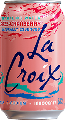 Natural LaCroix Razz-Cranberry Sparkling Water