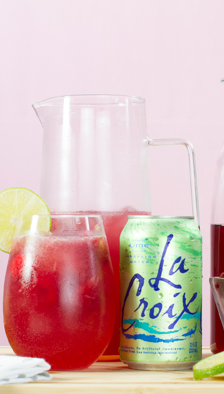 Cran-Lime Mocktail