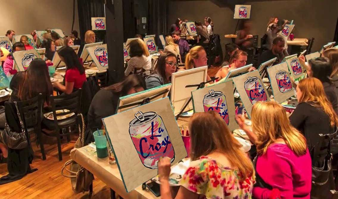 LaCroix Wine and Design Class Sells Out in Seconds