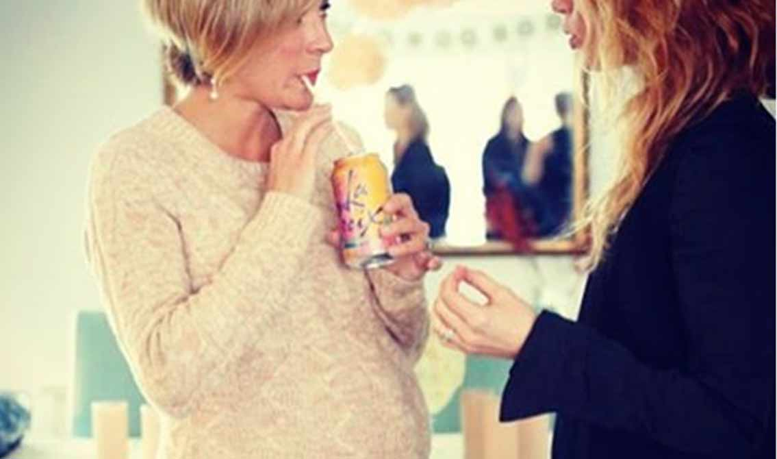 Christine Lakin's Baby Shower Featured LaCroix Drinks