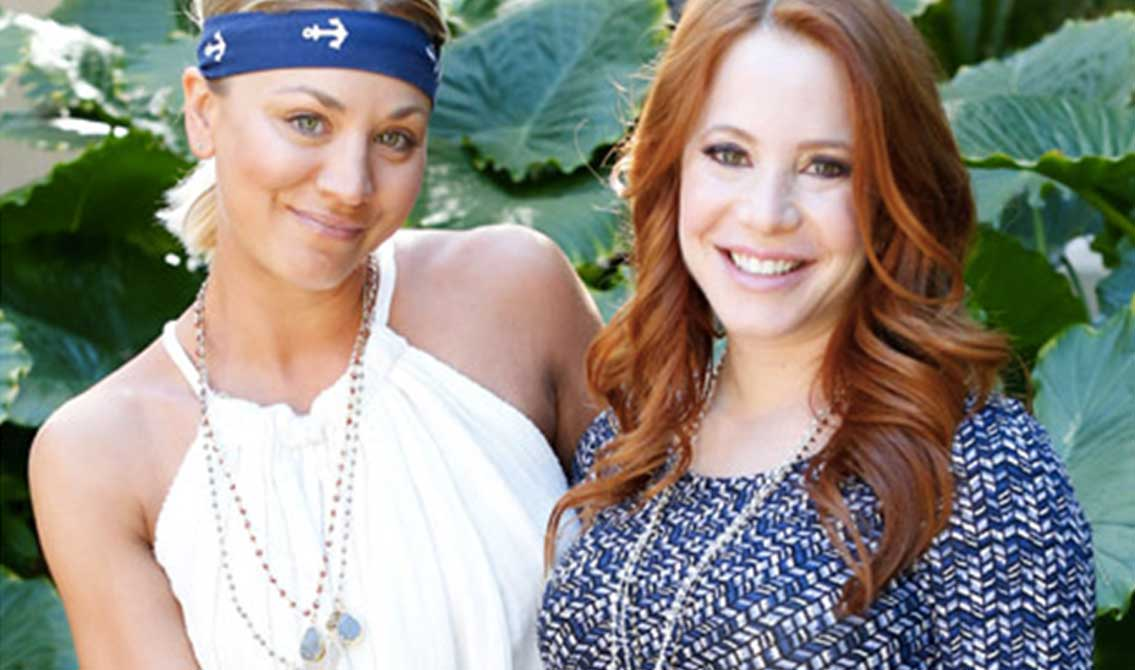 Kaley Cuoco throws her co-star a baby shower where guests enjoyed LaCroix!
