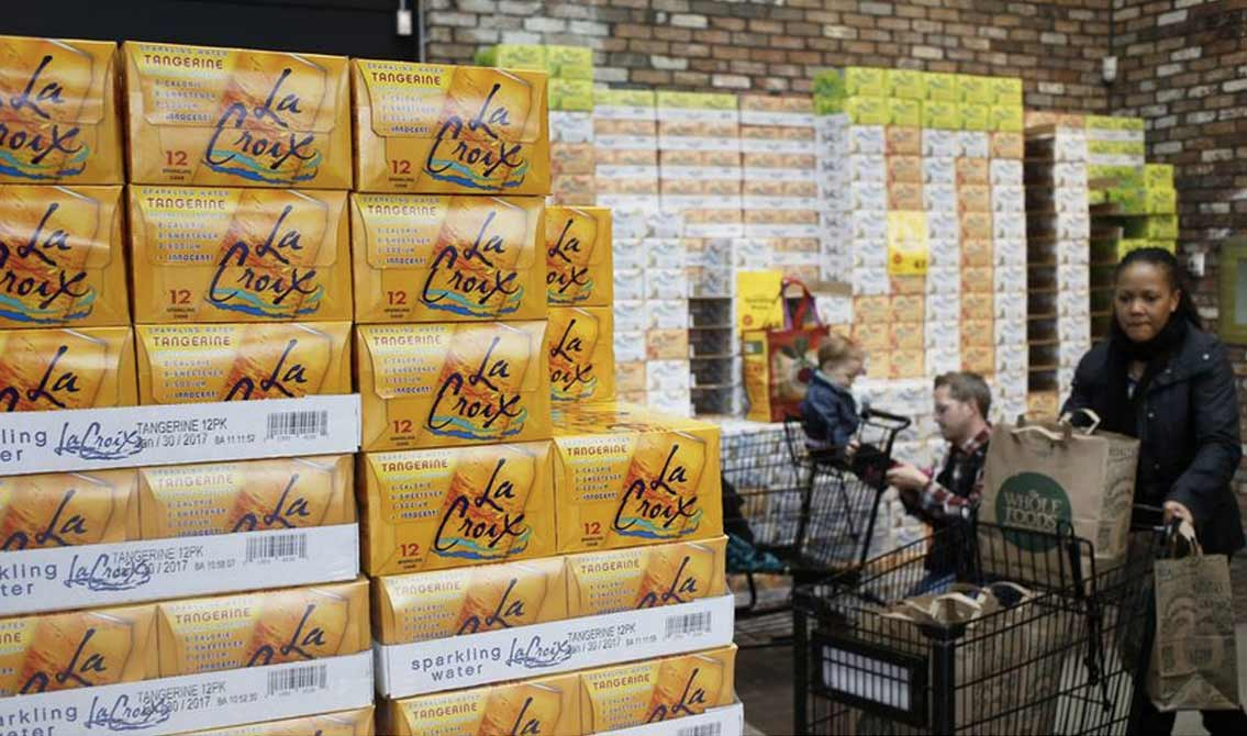 LaCroix Bubbles Up in Sparkling Water Brand Competition