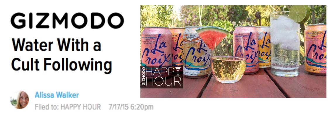 9 Cocktails Made with LaCroix, A Sparkling Water with a Cult Following
