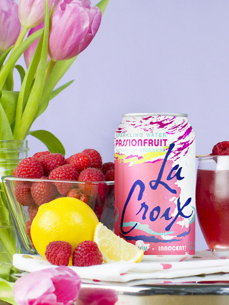 LaCroix Passionfruit Rouge Crush