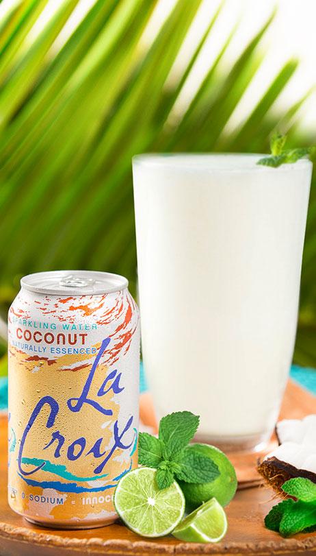 Coconut Cooler Mocktail