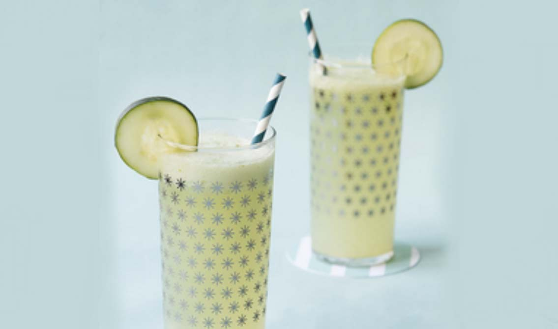 Cucumber Cocktail with LaCroix