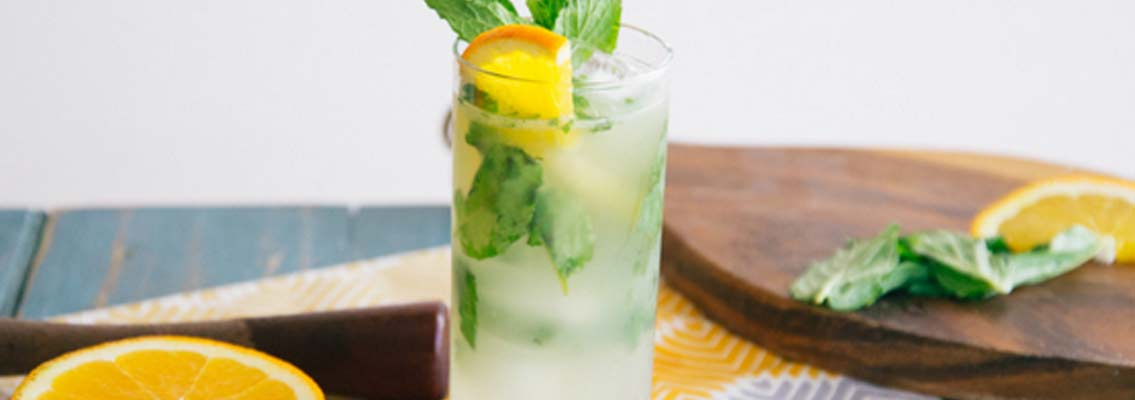 Orange Ginger Mojito made w/ LaCroix: Recipe & Video