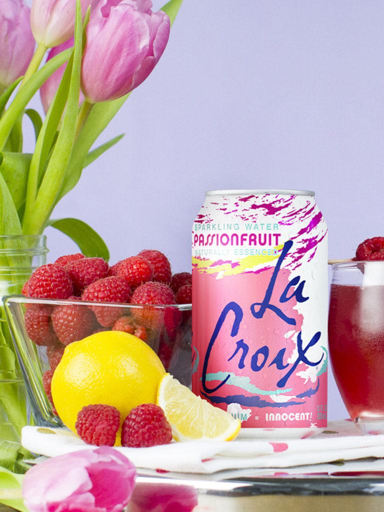 LaCroix Passionfruit Rouge Crush