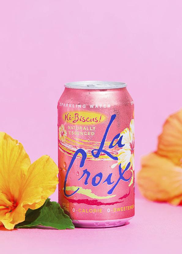 Natural LaCroix Hi-Biscus! Sparkling Water