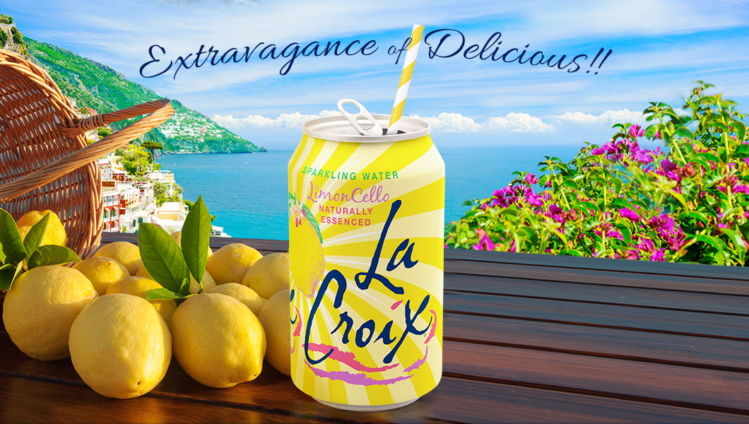 New flavor alert! LaCroix LimonCello, the Extravagance of Delicious!